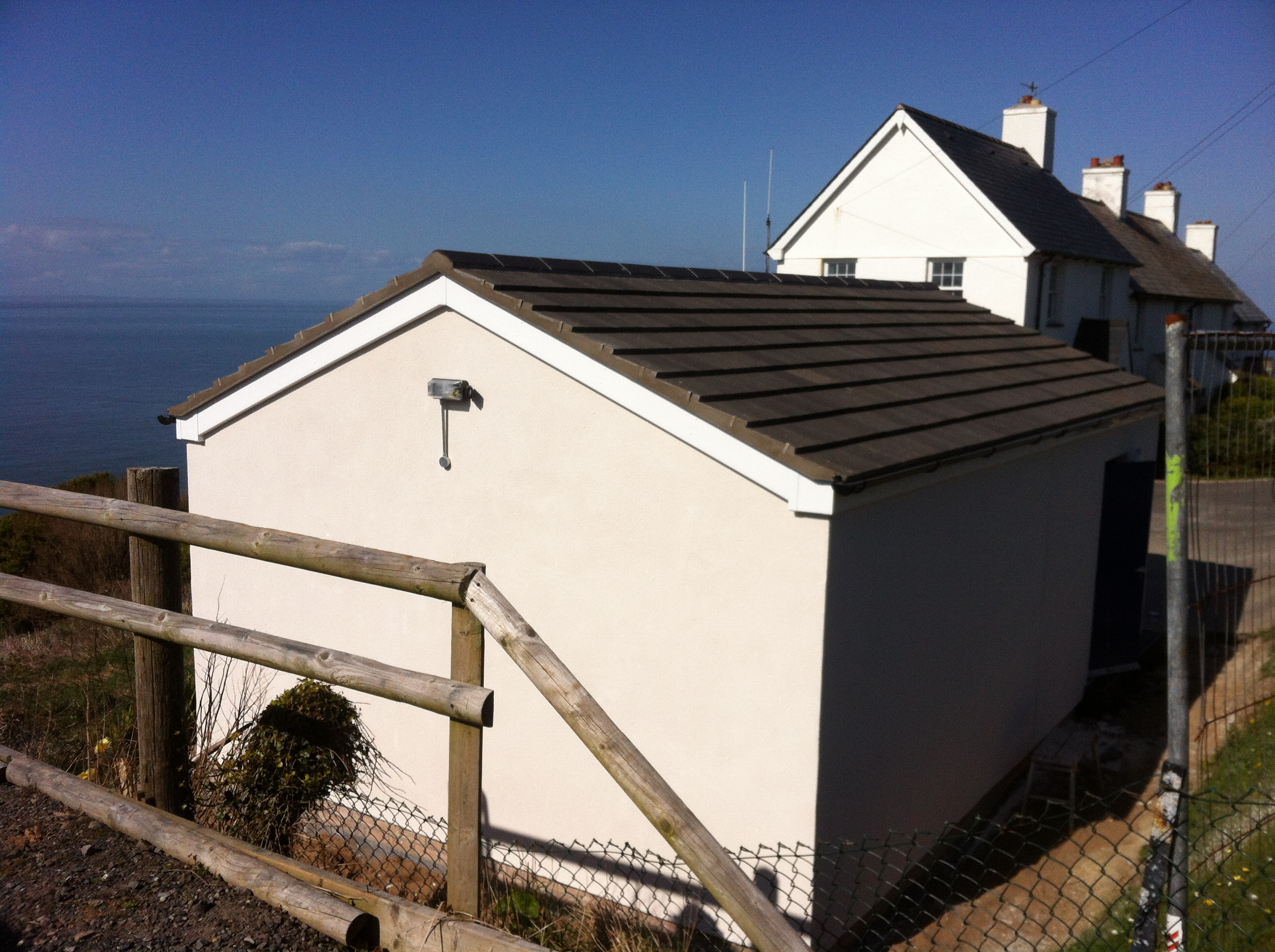 Roofing general building services north devon jamie for Garage cupola