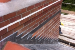 Chimney re-build in Ilfracombe