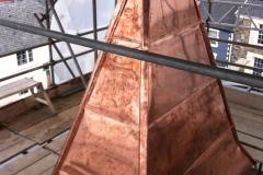 Copper spire