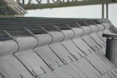 Lead flat roof