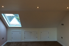 Loft conversion complete