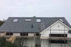 loft roof finished