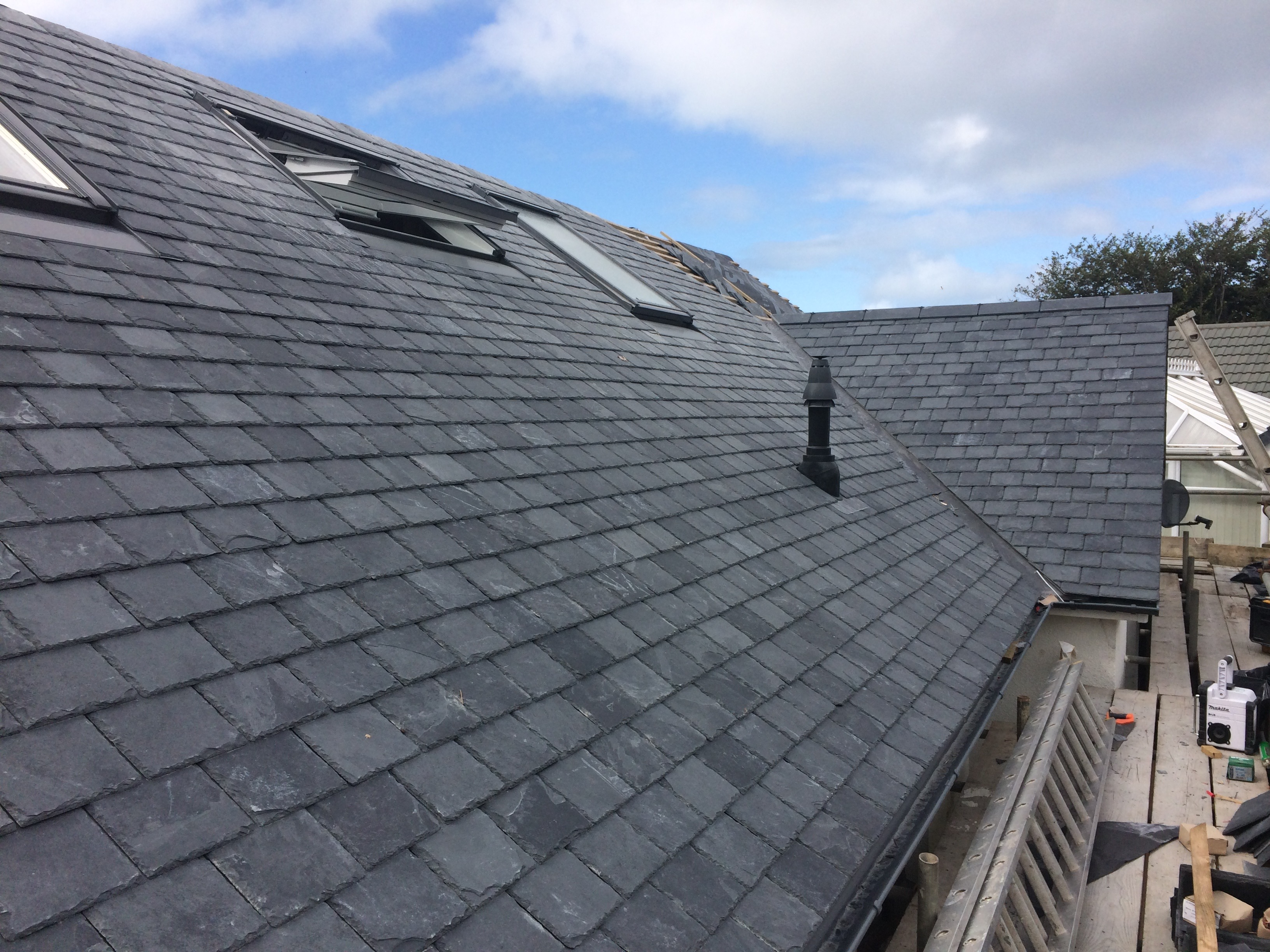 Slate Roofing Amp Leadwork Services In North Devon Jamie