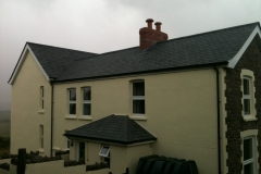 Brazilian slate roof at Exmoor 1