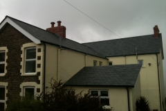 Brazilian slate roof at Exmoor