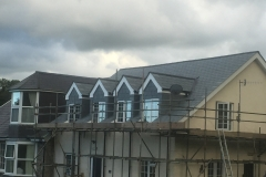 Natural slate re-roof in Ilfracombe