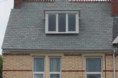 Natural slate roof in barnstaple, north devon