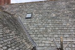 Salvage Random Delabole roof in Crediton, Devon