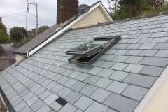 Slate roof with Velux window in swimbridge, barnstaple