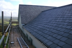 natural slate roof, Exmoor