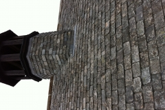 salvaged Delabole slate roof in Crediton 1