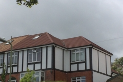 Concrete tile roof in Ilfracombe