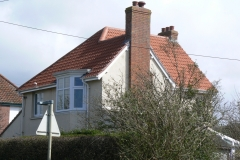 clay tile roof, West Yelland, Barnstaple