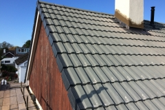 concrete tile roof in braunton, north devon 1