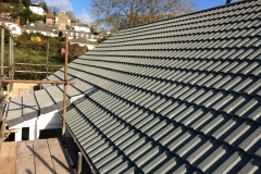 Concrete tile roof in braunton, north devon
